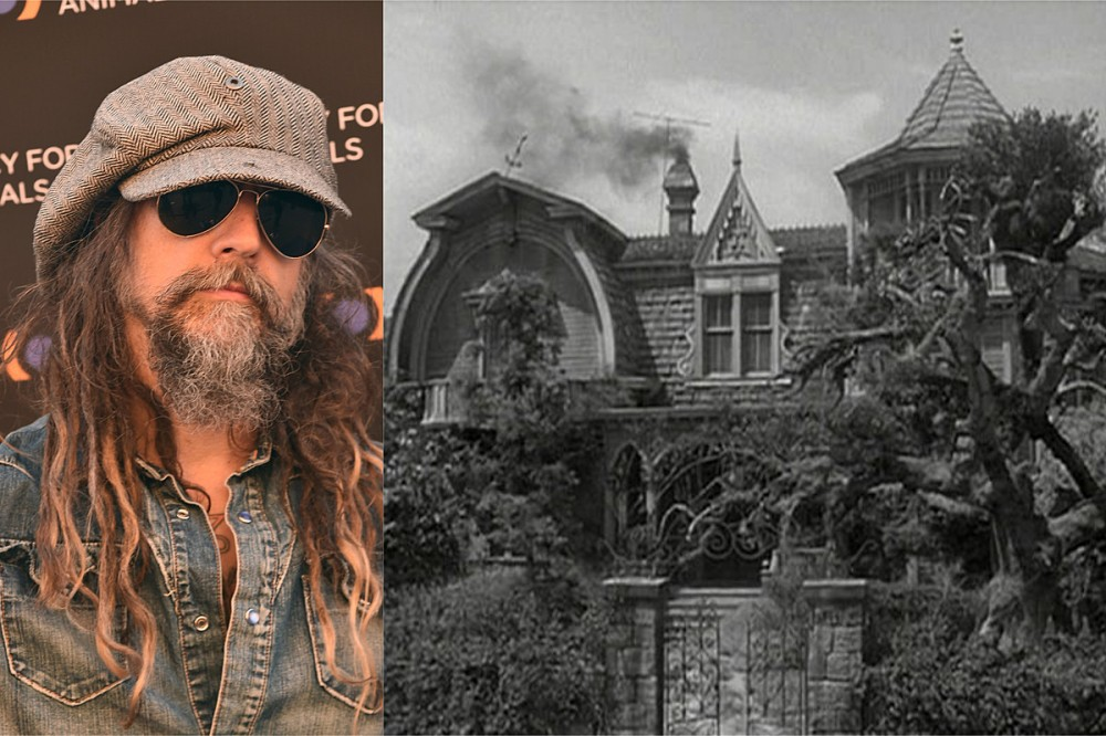 Rob Zombie Building Exact Replica of 'Munsters' House for Upcoming Movie