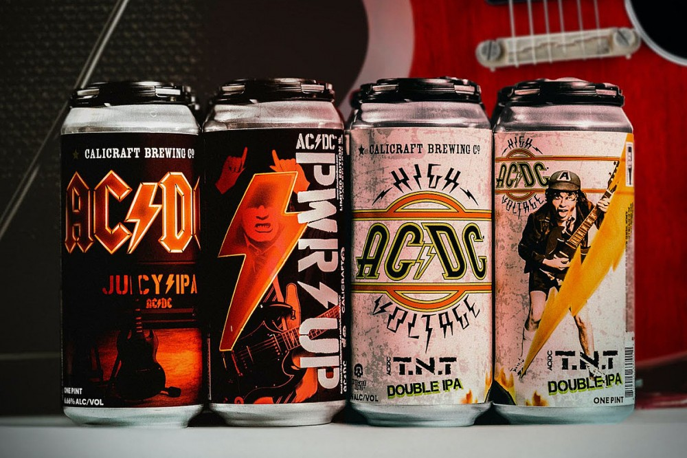 AC/DC Announce Two New Signature Beers, One at 6.66 Percent Alcohol