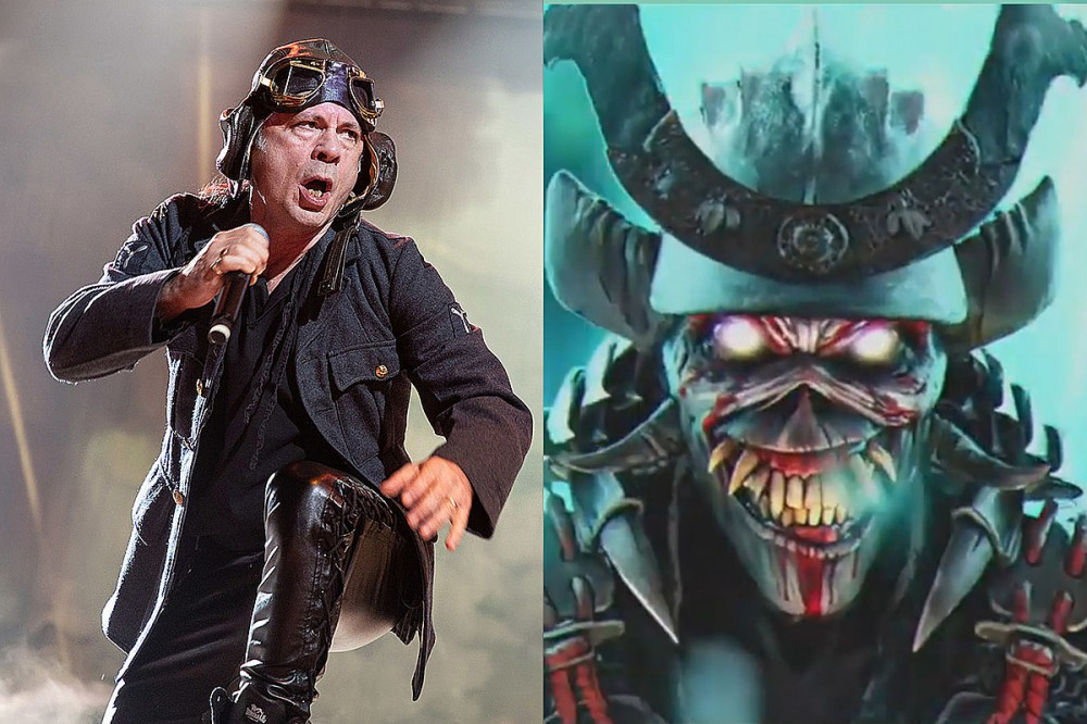 Iron Maiden Release Long-Awaited New Song 'The Writing on the Wall'