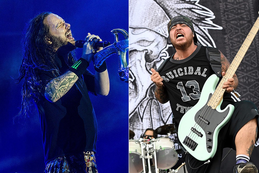Watch Korn's First Live Performance With Suicidal Tendencies Bassist