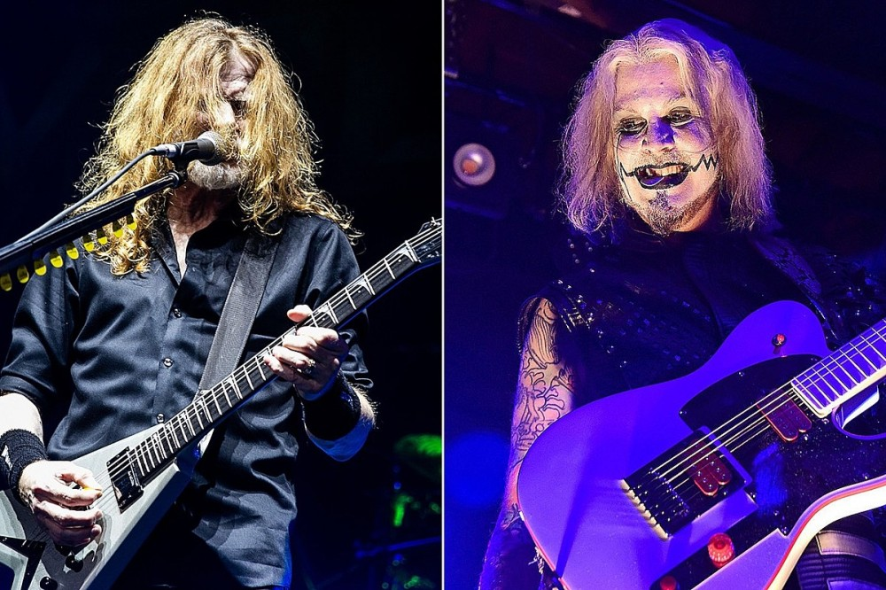 Dave Mustaine to Appear on New John 5 Album