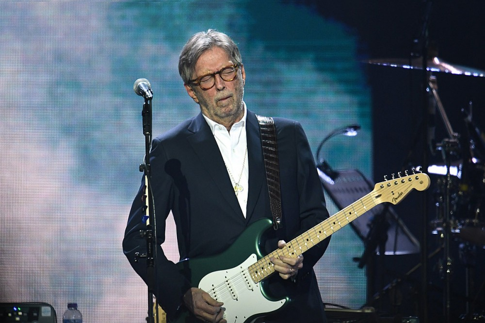 Eric Clapton Says He Won't Play Shows Where Vaccination is Required