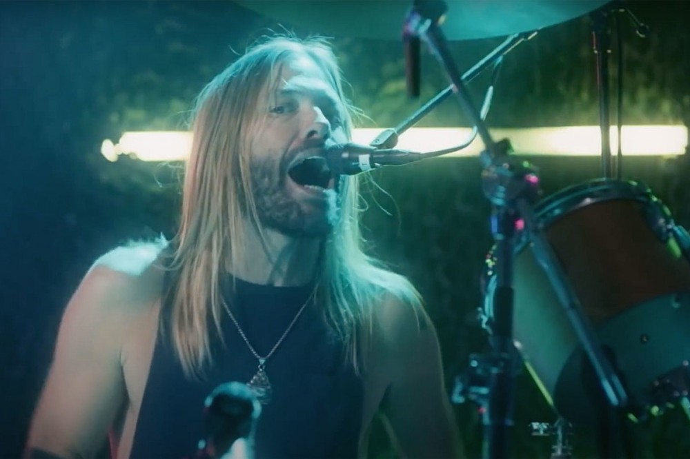 Watch Taylor Hawkins Front Foo Fighters on Andy Gibb Disco Cover