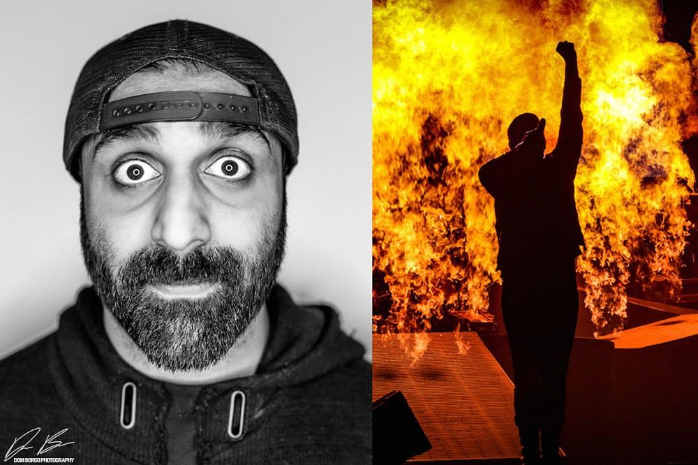 Shinedown Tour Photographer Sanjay Parikh's Favorite Pyro Photos + Best Tips