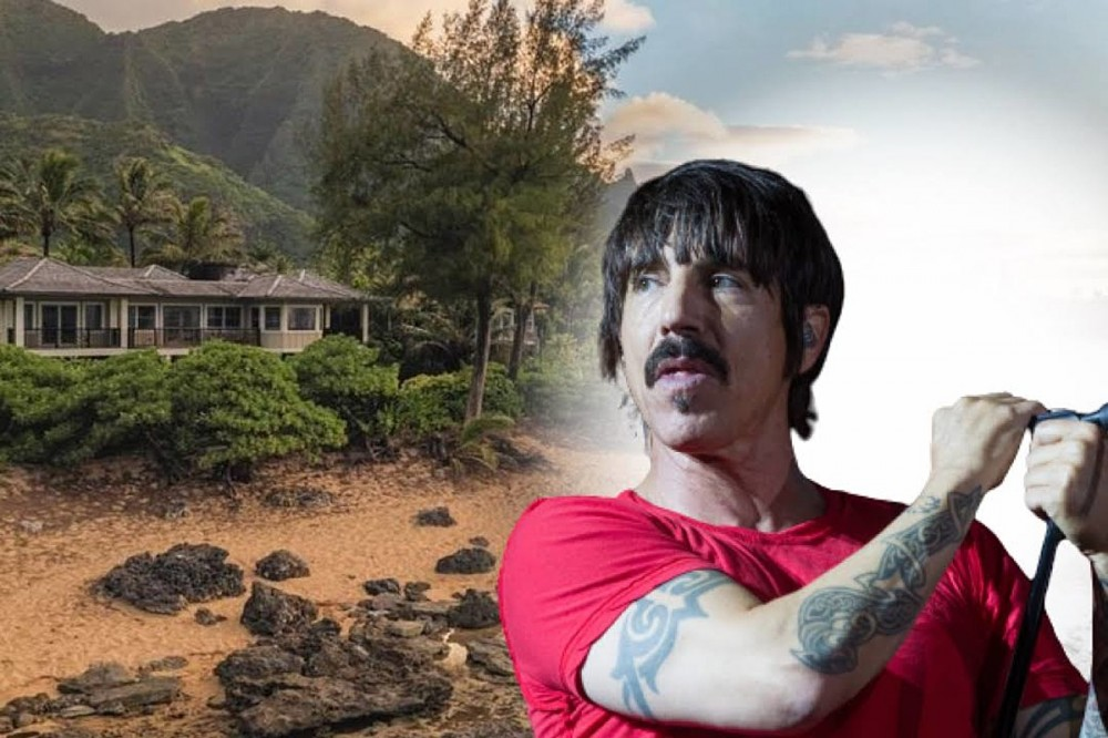 Red Hot Chili Pepper Anthony Kiedis Isn't Giving Away His $10M Hawaii Home