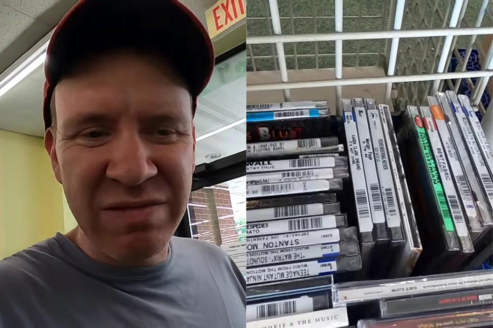 Music Fan Stunned That Dollar Tree Sells Rock + Pop CDs