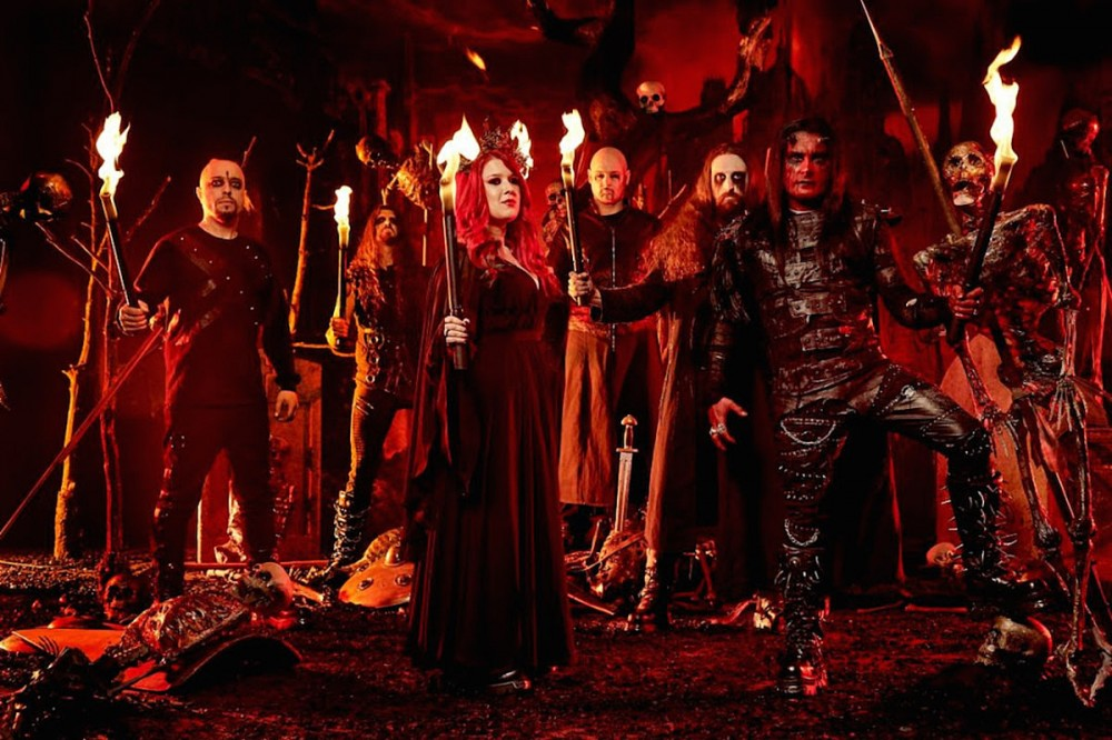 Cradle of Filth Debut 'Crawling King Chaos' Song Off New Album 'Existence Is Futile'