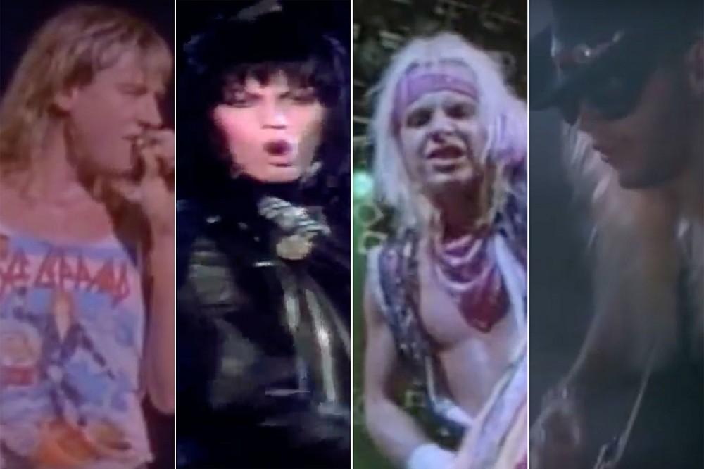 30 Most Epic '80s Rock + Metal Music Videos
