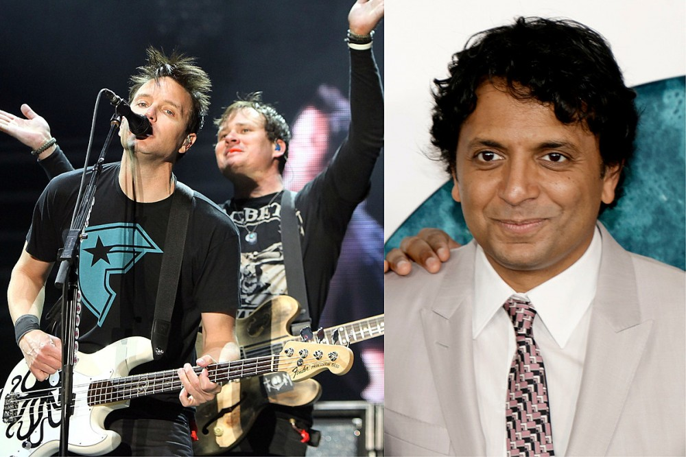 How blink-182 Almost Got M. Night Shyamalan to Direct a Video for Them