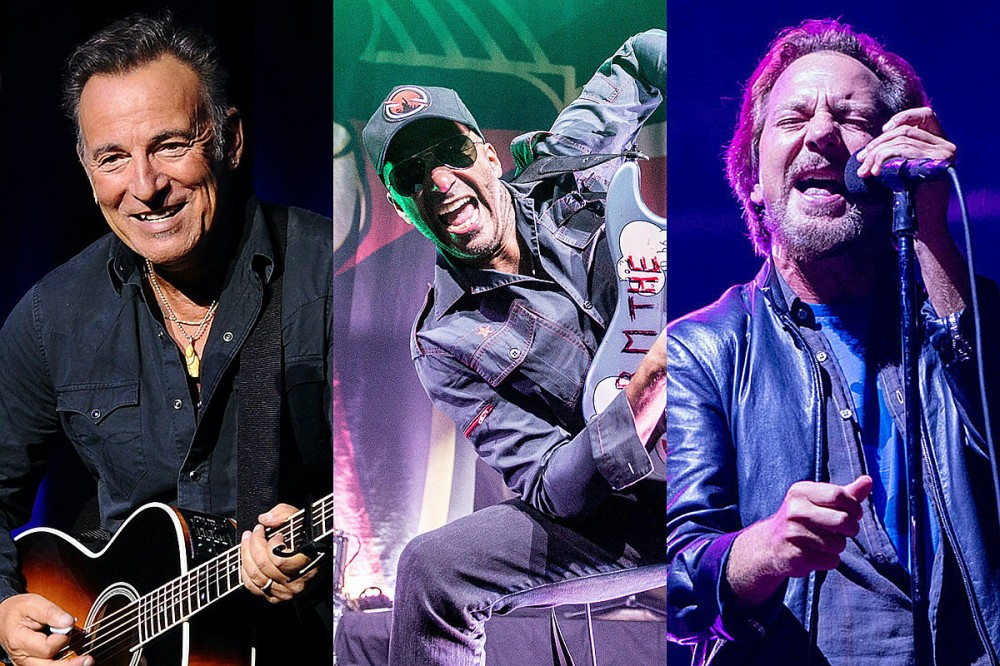 Tom Morello, Bruce Springsteen + Eddie Vedder Cover AC/DC's 'Highway to Hell'