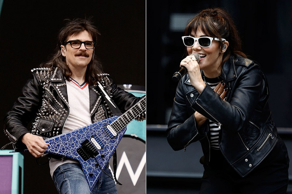 Weezer, The Interrupters Both Cover Missing Tourmates Fall Out Boy at New York's 'Hella Mega' Tour Stop