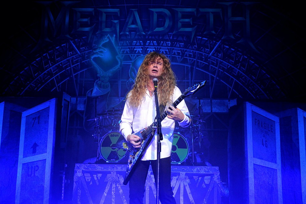Dave Mustaine Shares Video of New Megadeth Album's 'Last Vocal Take'