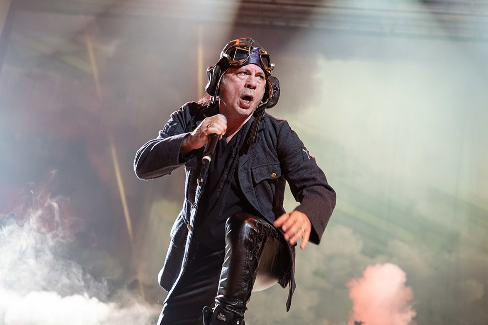 Iron Maiden's Bruce Dickinson Has COVID, Says He 'Could Be in Serious Trouble' If He Wasn't Vaccinated
