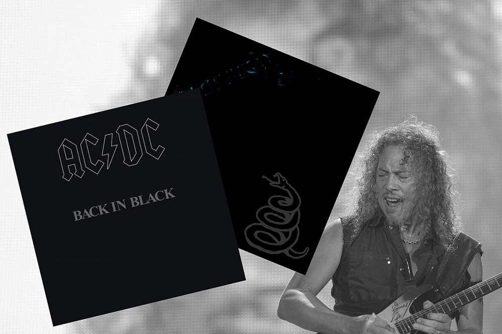 AC/DC's 'Back in Black' Inspired Metallica's Black Album' Not Just in Color
