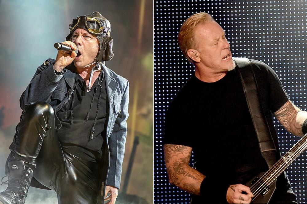 Bruce Dickinson Says Metallica's 'Black Album' Pushed Metal Into the Mainstream