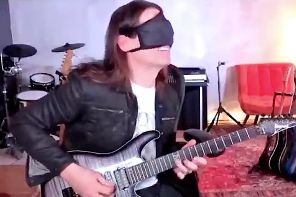 Watch Megadeth's Kiko Loureiro Nail Blindfolded Guitar Challenge