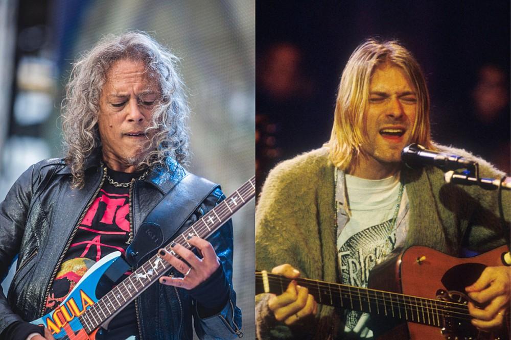 Kirk Hammett Remembers Kurt Cobain as a Big Metallica Fan
