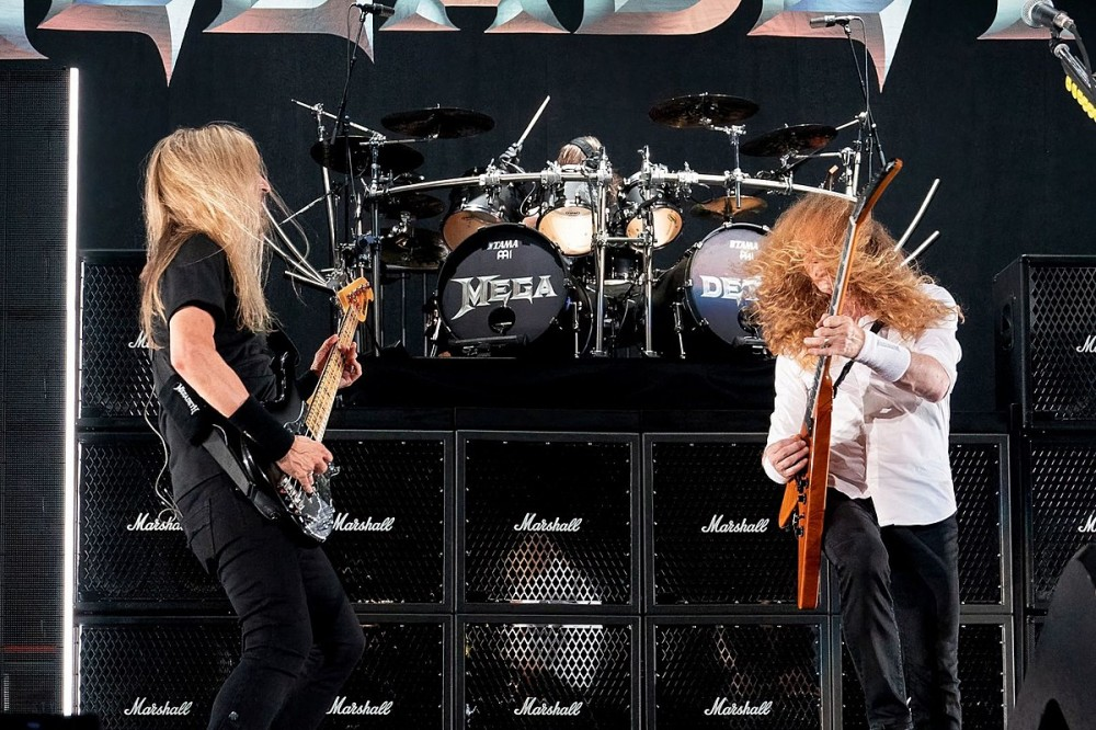 Megadeth Perform Their First Concert of 2021 With James LoMenzo on Bass