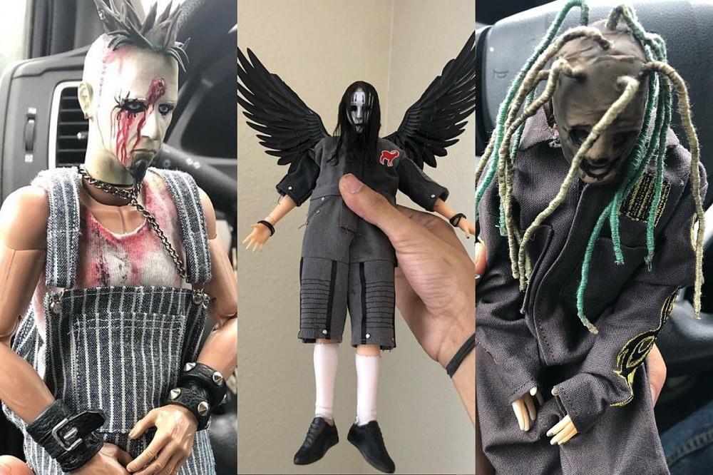 Crafty Creator 'Dead Ed' Makes Amazingly Detailed Rock + Metal Figurines