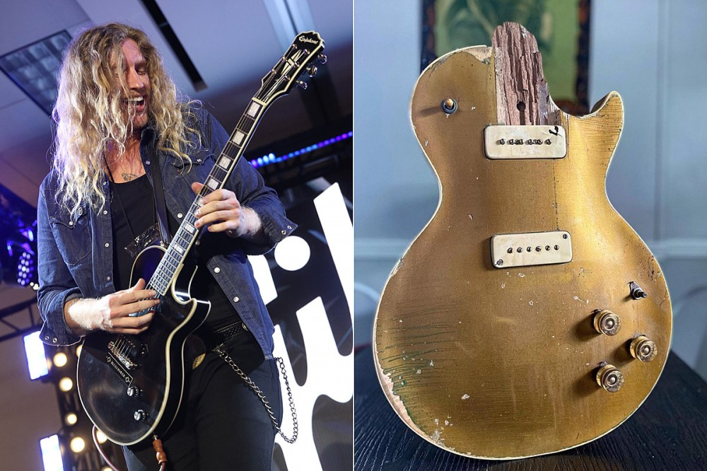 Blues Rocker Restores One of First Ever Les Paul Guitars Destroyed in EF4 Tornado