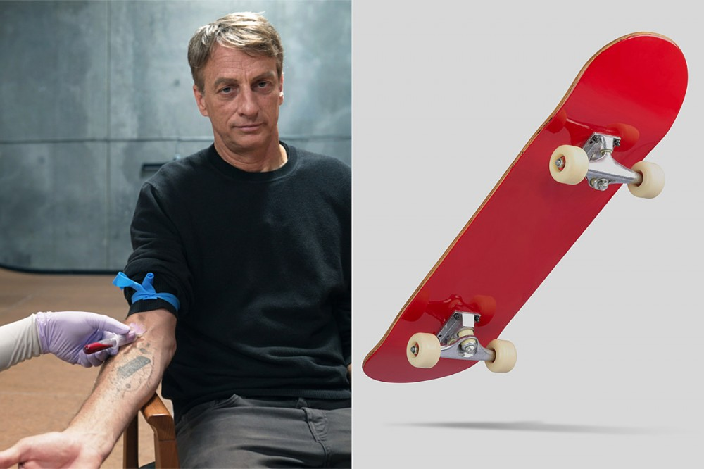 New Skateboard Contains Some of Tony Hawk's Actual Blood