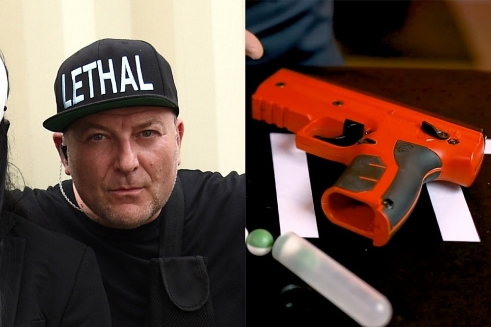 Limp Bizkit's DJ Lethal Supports Use of Non-Lethal Guns for Self-Defense