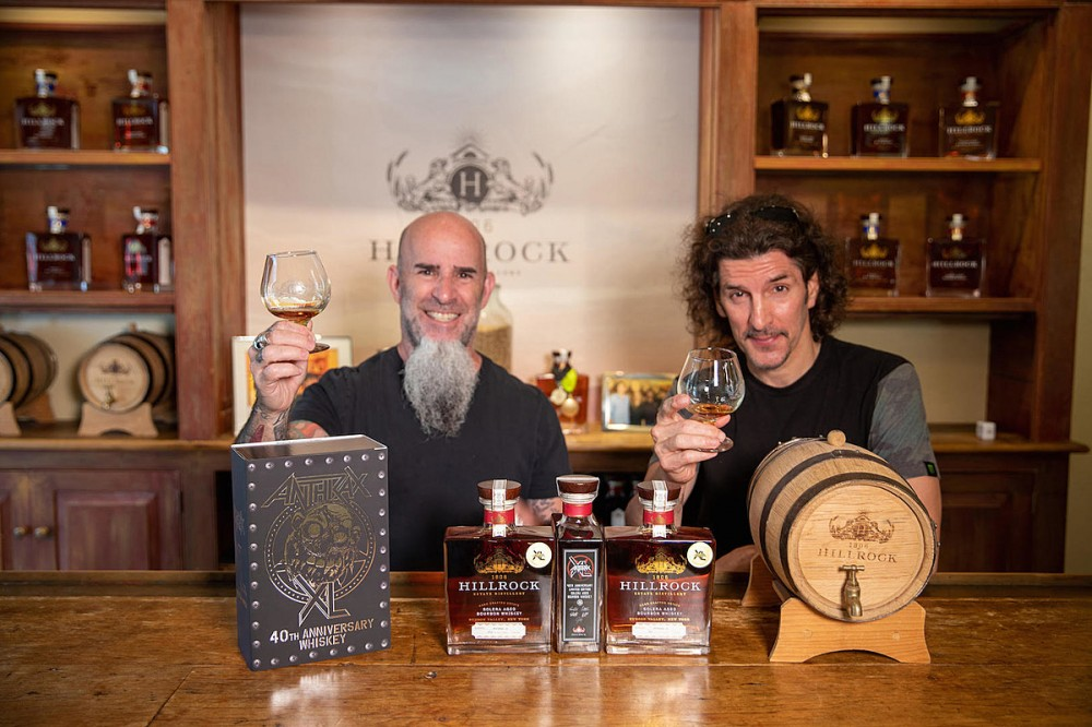 Anthrax Unveil Limited-Edition 40th Anniversary Bourbon Whiskey