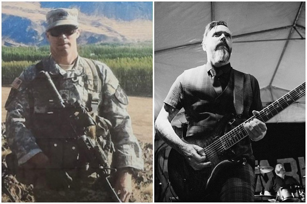 Nefariant Guitarist Dustin Tooker Reflects on Serving in Afghanistan