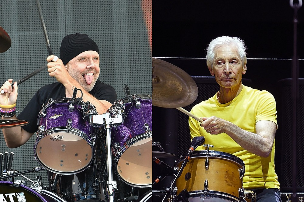Lars Ulrich Honors Charlie Watts, Calls Drummer's Death the End of an Era