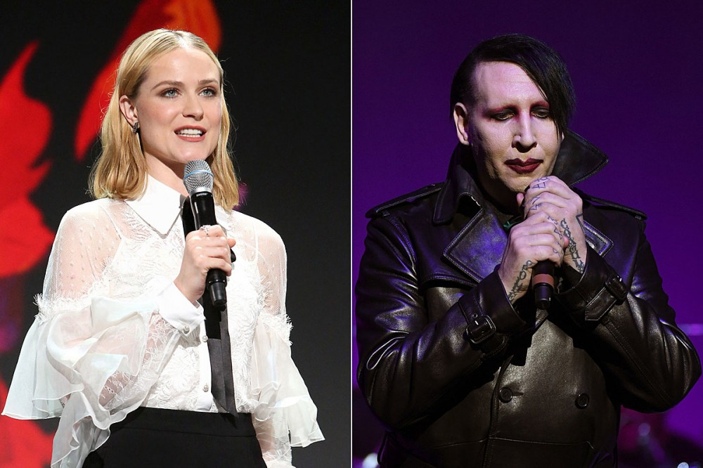 Evan Rachel Wood Offers Musical Response to Marilyn Manson's Recent Kanye West Listening Party Appearance