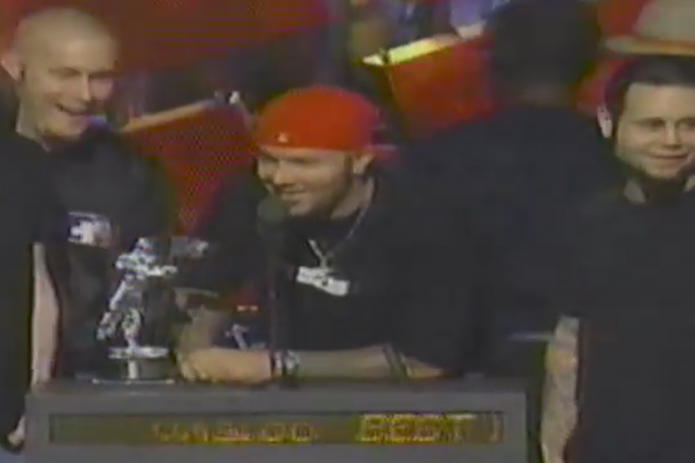 21 Years Ago: Rage Against the Machine's Tim Commerford Protests Limp Bizkit's Win at MTV Video Music Awards