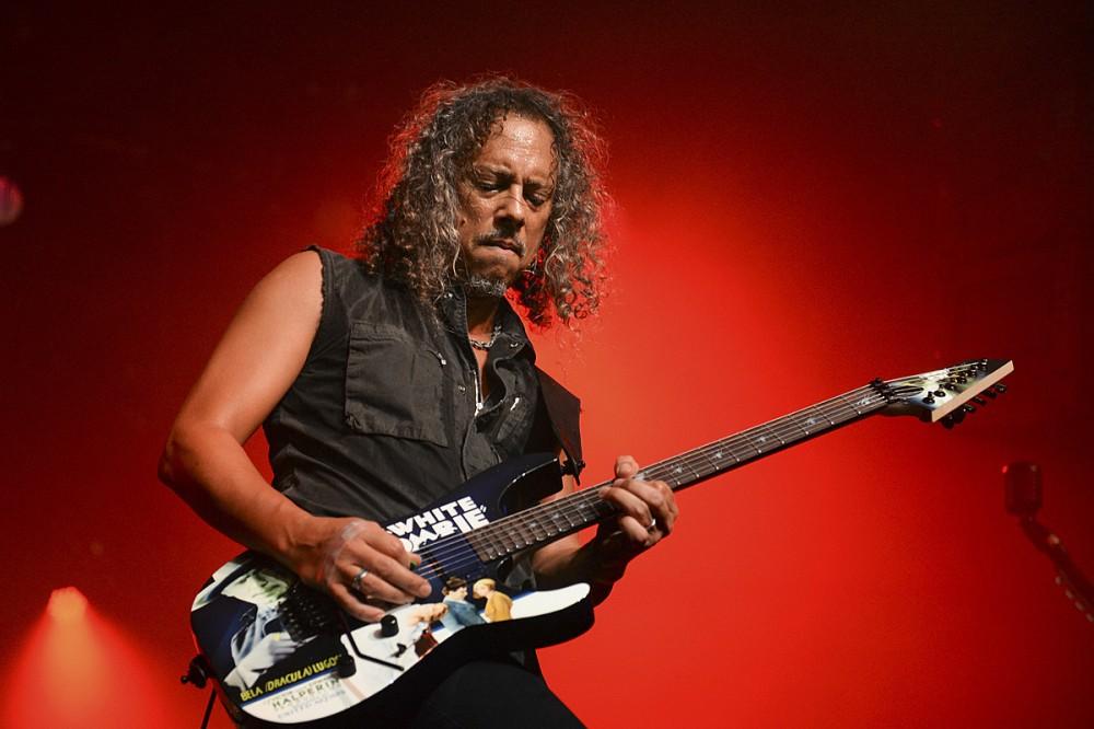 Kirk Hammett Didn't Use Wah Pedal When Writing His 'Black Album' Solos