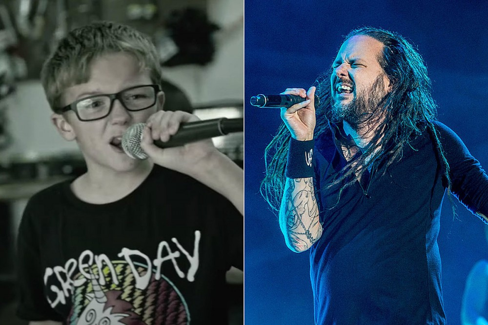 10-Year-Old Is Totally Ready, Sings Korn's 'Blind' With Kid Band