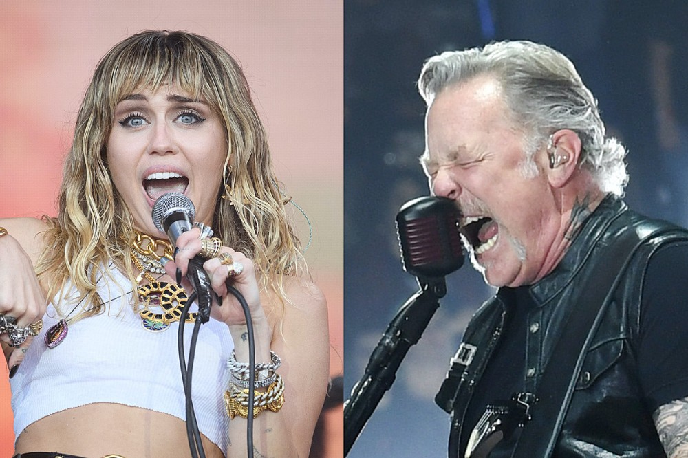 Hear Metallica Play 'Nothing Else Matters' Live With Miley Cyrus