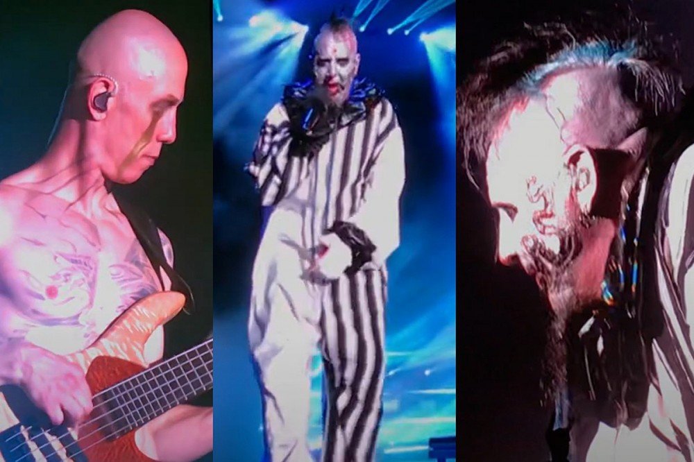 Watch Mudvayne Perform Their First Show in 12 Years