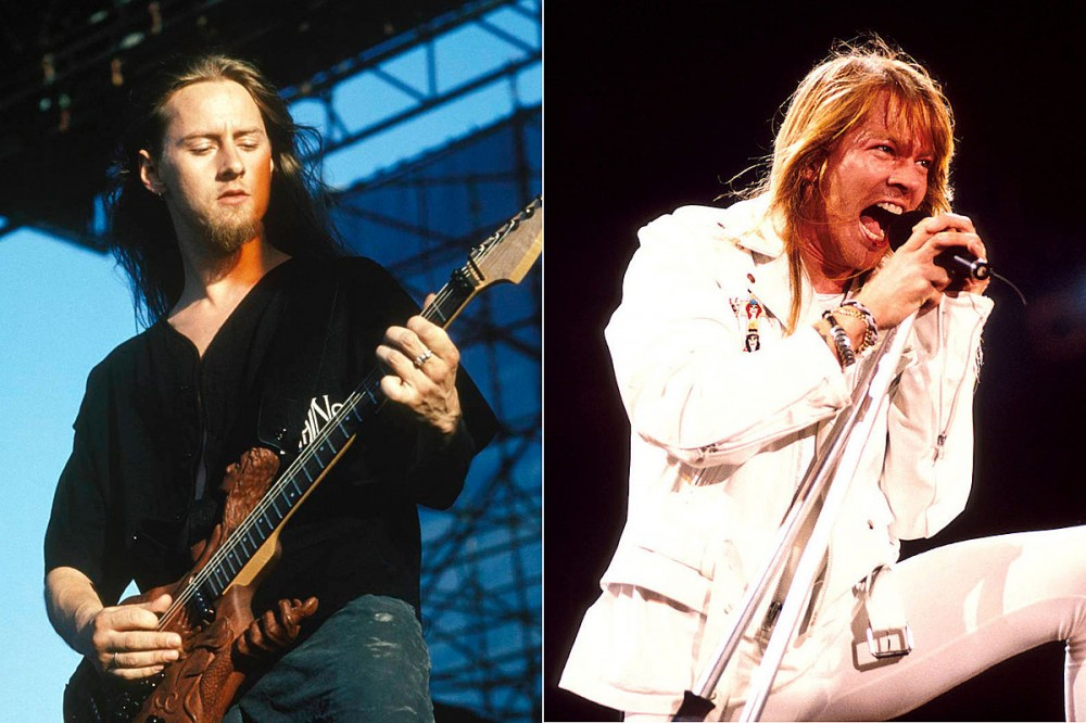Alice in Chains' Jerry Cantrell Recalls When Axl Rose Threw Out His Demo Tape