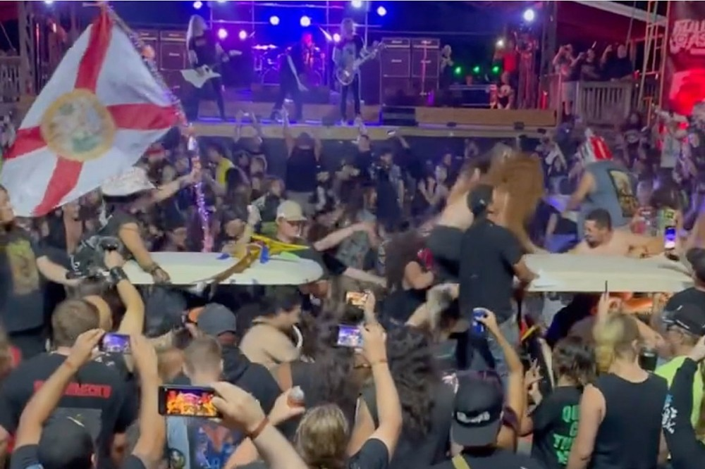 Golf Cart Circle Pits Are Now a Thing at 2021 Full Terror Assault Festival
