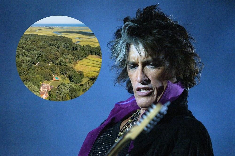 Look at Aerosmith Guitarist Joe Perry's $4.5 Million Massachusetts Home