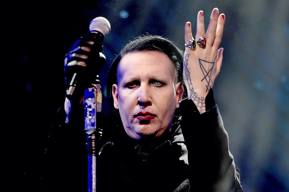 Marilyn Manson Lawyer Claims Videographer Consented to Bodily Fluid Exposure
