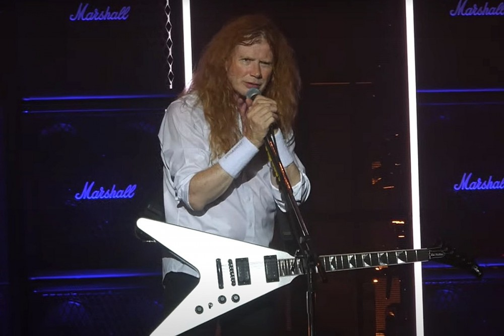 Megadeth's Dave Mustaine Speaks About COVID + 'Medical Tyranny' Onstage