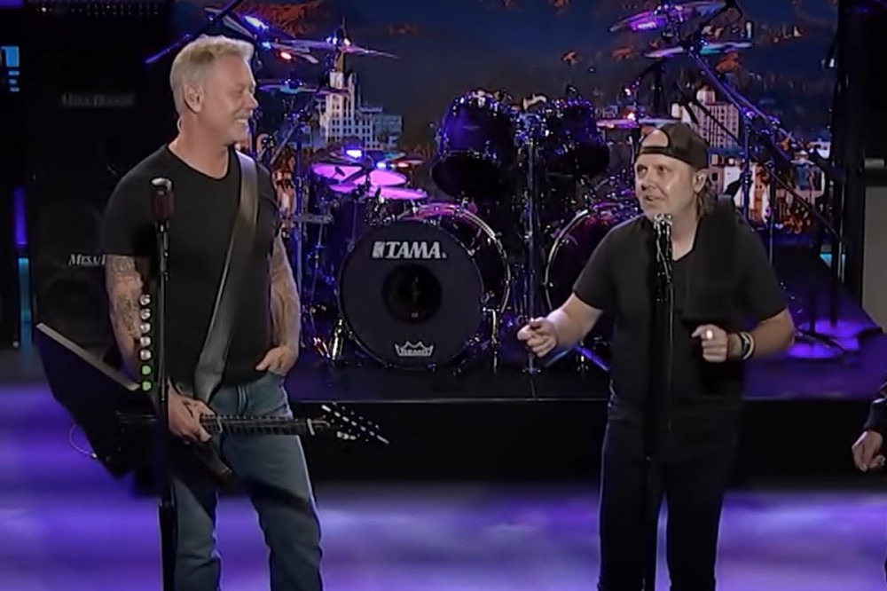 Metallica Laugh About the Time James Hetfield Punched Lars Ulrich