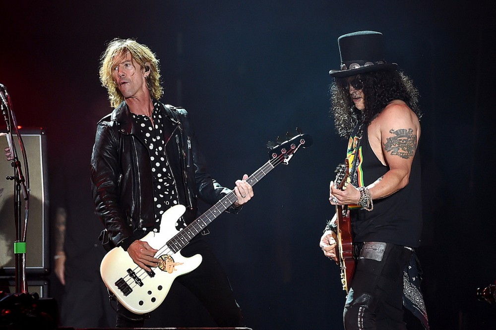 See Video of Guns N' Roses Rehearsing 'Hard School' Before Show