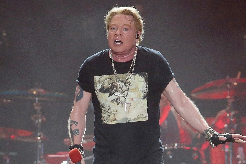 Axl Rose Guts Out Guns N' Roses' Wrigley Field Show Amidst Potential Food Poisoning