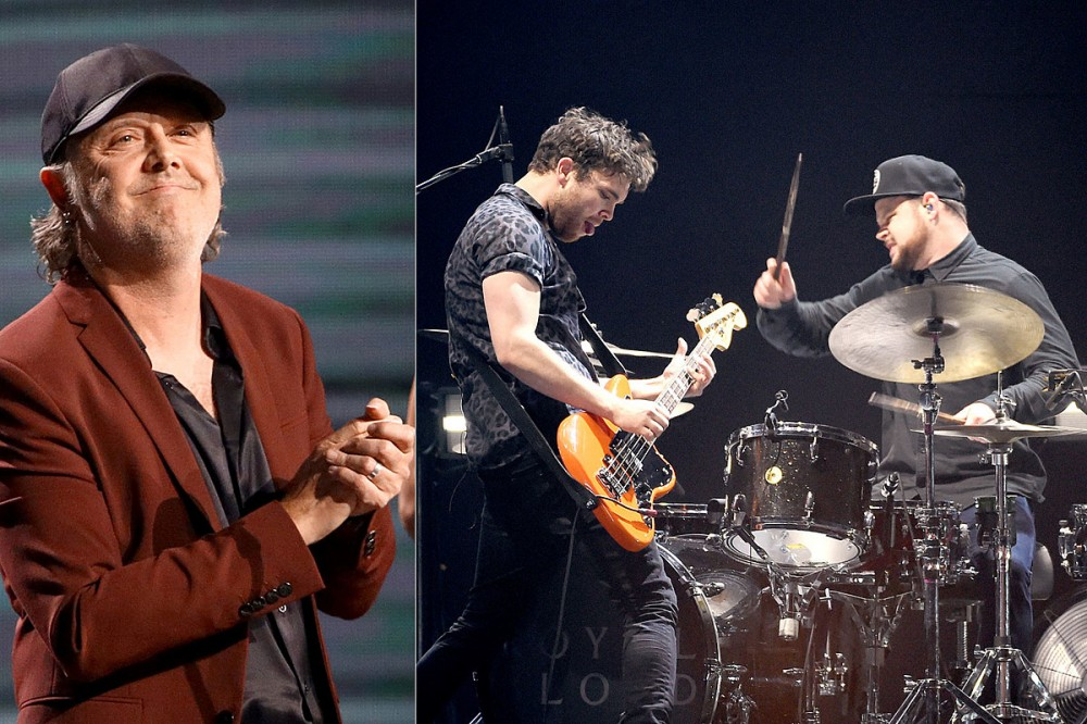 Lars Ulrich's 'Whole Family Fell in Love With Royal Blood,' Duo Influenced Sons' Band