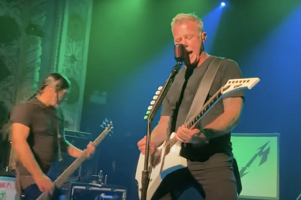 Metallica Played a Second Surprise Club Show, This Time in Chicago – Video + Set List