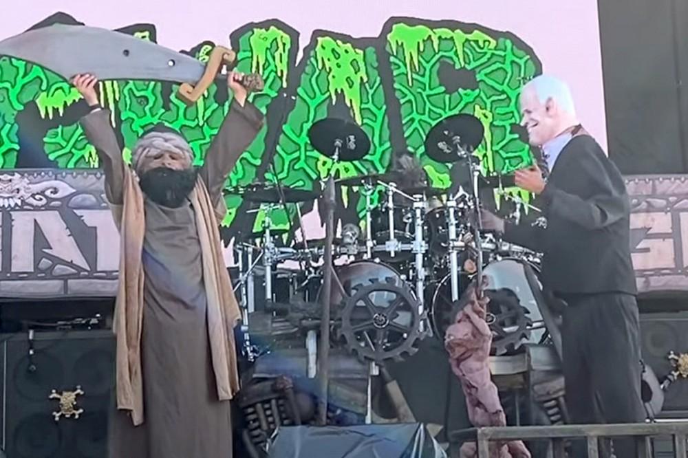 GWAR Recruit the Taliban to 'Kill' Joe Biden Onstage