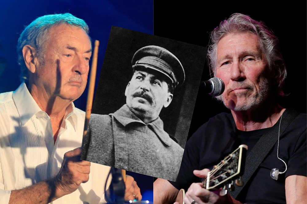 Pink Floyd Drummer Compares Roger Waters to Stalin Over Bullying Claims