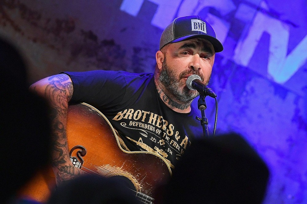 Aaron Lewis Blames Democrats for 'Every F–cking Scar' on the Country