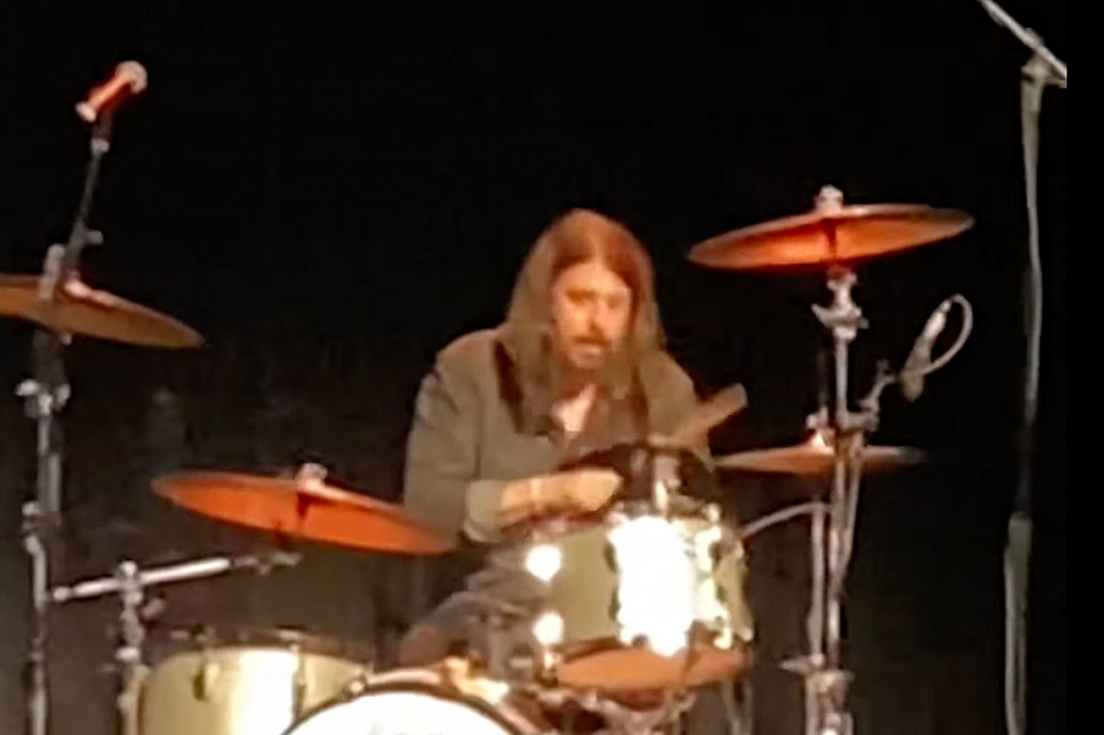 Watch Dave Grohl Drum to Nirvana's 'Smells Like Teen Spirit' at 'Storyteller' Event