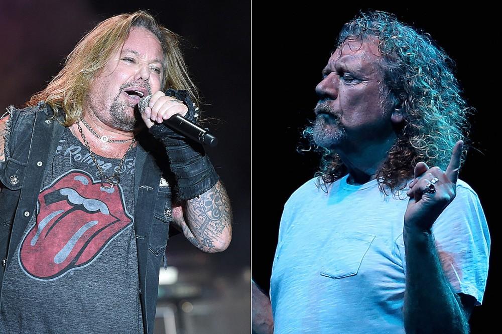 Motley Crue's Nikki Sixx Likens Vince Neil's Vocal Character to Led Zeppelin's Robert Plant